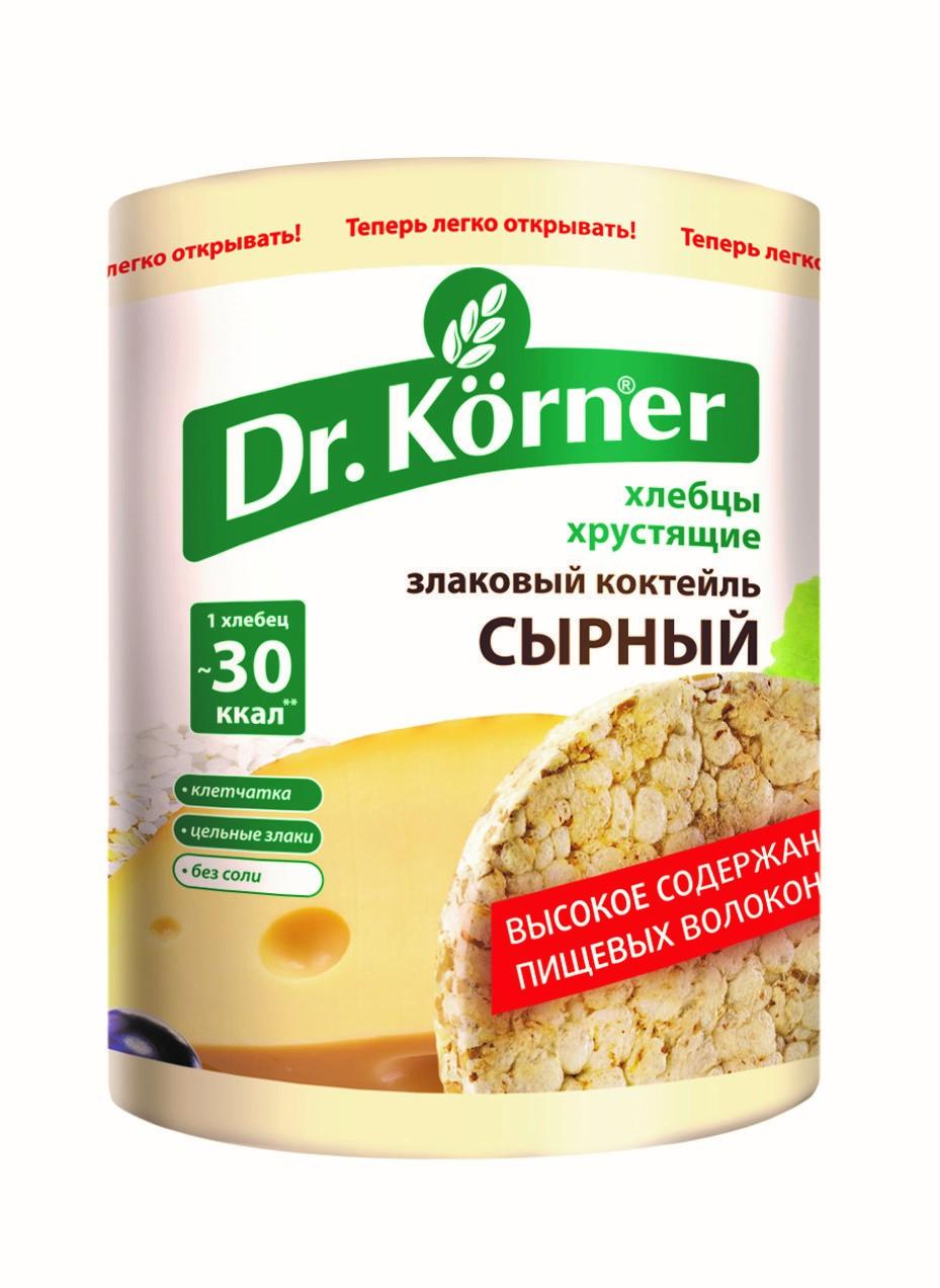 Хлебцы Dr.Korner «Злаковый коктейль» Сырный