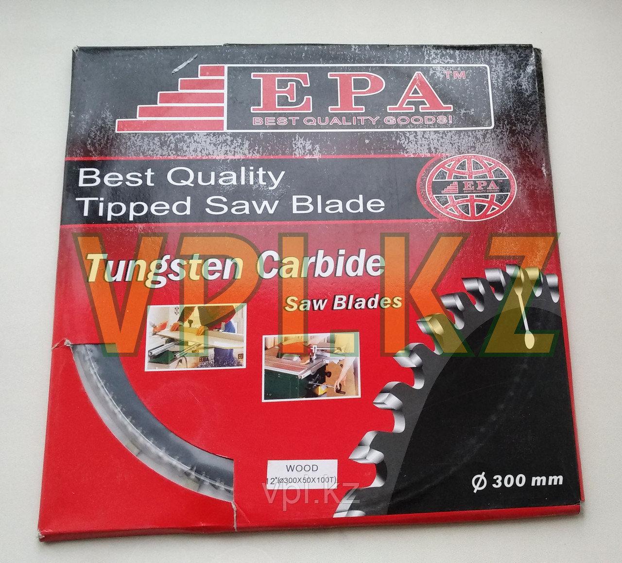 Диск пильный  по дереву   300*50 зуб 80 EPA