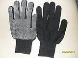 Перчатки с пупырышками черные (Корея), фото 2
