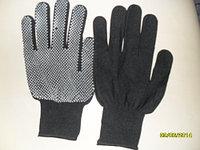 Перчатки черные с пупырышками Корея