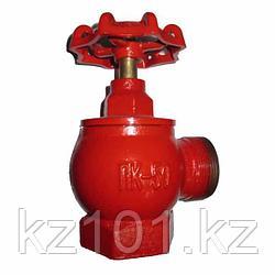 Клапан пожарного крана угловой чугунный КПЧ-50
