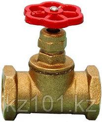 Клапан пожарного крана прямой латунный КПК-50