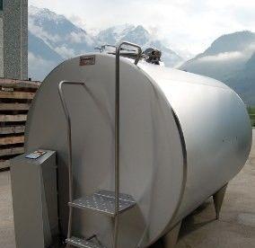 Охладитель молока закрытого типа Cold Vessel 10000 л