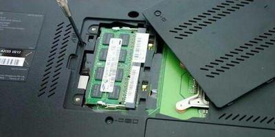 Установка оперативной памяти в ноутбук