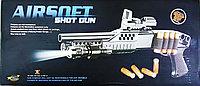 Винчестер пластиковый Airsoft Shot Gun M180-A2 черный, с пластик. пульками 6 мм и гильзами