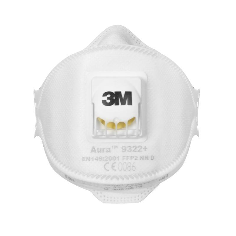 Респиратор 3М Aura 9322+ FFP2 до 12 ПДК с клапаном
