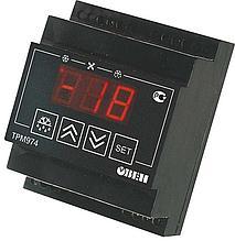 Блок управления средне- и низкотемпературными холодильными машинами с автоматической разморозкой ТРМ974