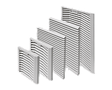 Вентиляторы и решетки с фильтрами KIPPRIBOR серии KIPVENT, фото 2