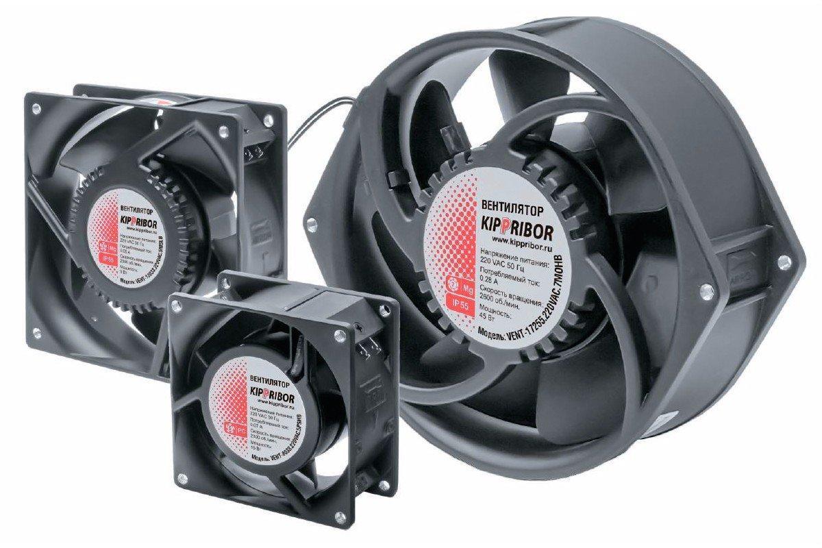 Вентиляторы промышленные осевые KIPPRIBOR серии VENT