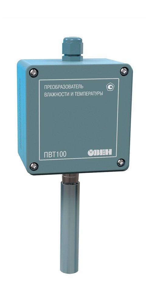 Датчик промышленный (преобразователь) влажности и температуры воздуха ОВЕН ПВТ100