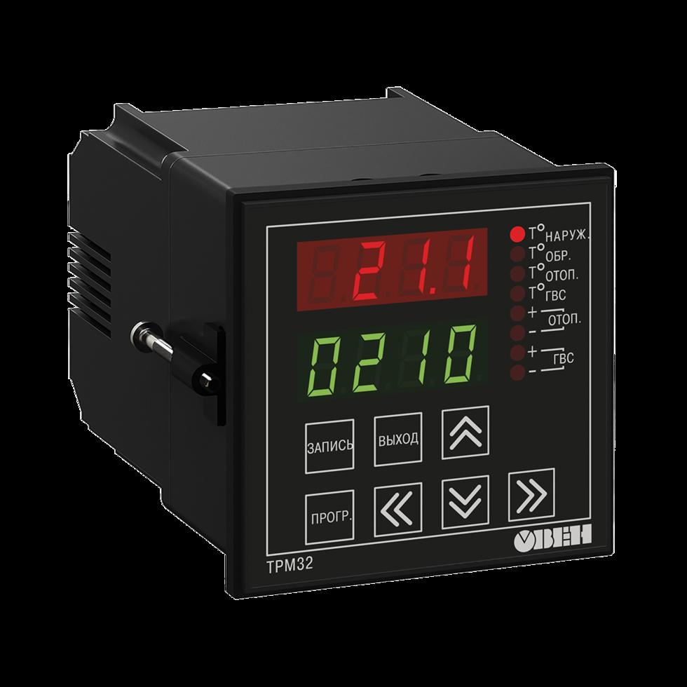 Для регулирования температуры в системах отопления и ГВС ТРМ32