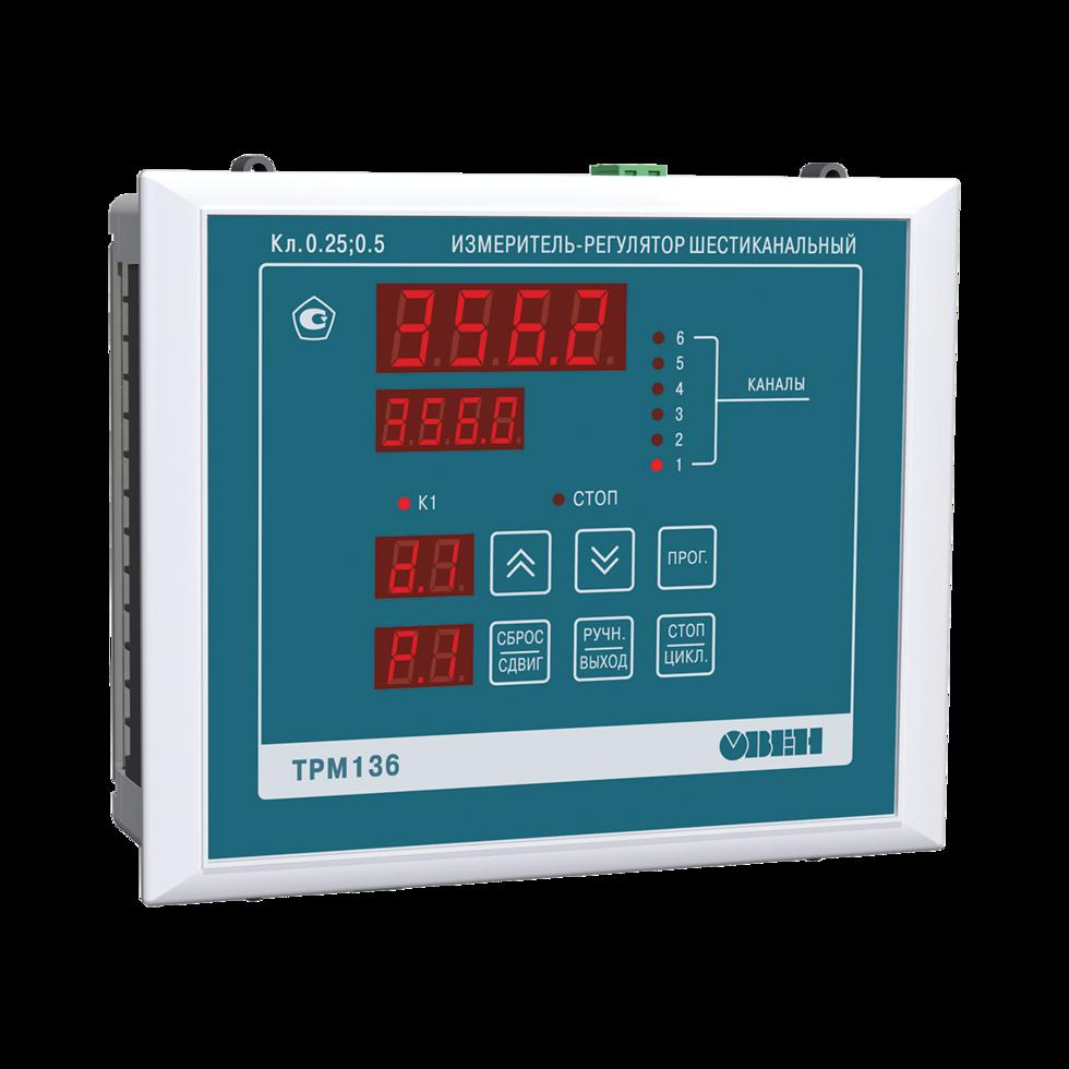 Измеритель-регулятор 6-канальный ТРМ136