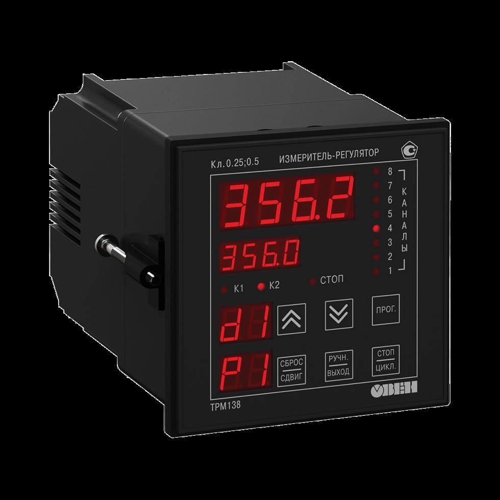 Измеритель-регулятор 8-канальный ТРМ138