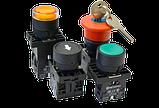 Кнопки, переключатели, лампы в пластиковом исполнении IP40 MTB2-E, фото 2