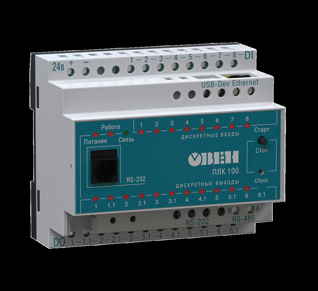 Контроллер программируемый логический ОВЕН ПЛК100-ТЛ