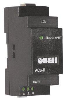 Преобразователь интерфейсов HART-USB АС6-Д