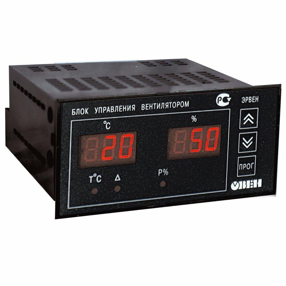 Регулятор скорости вращения вентилятора в зависимости от температуры ЭРВЕН