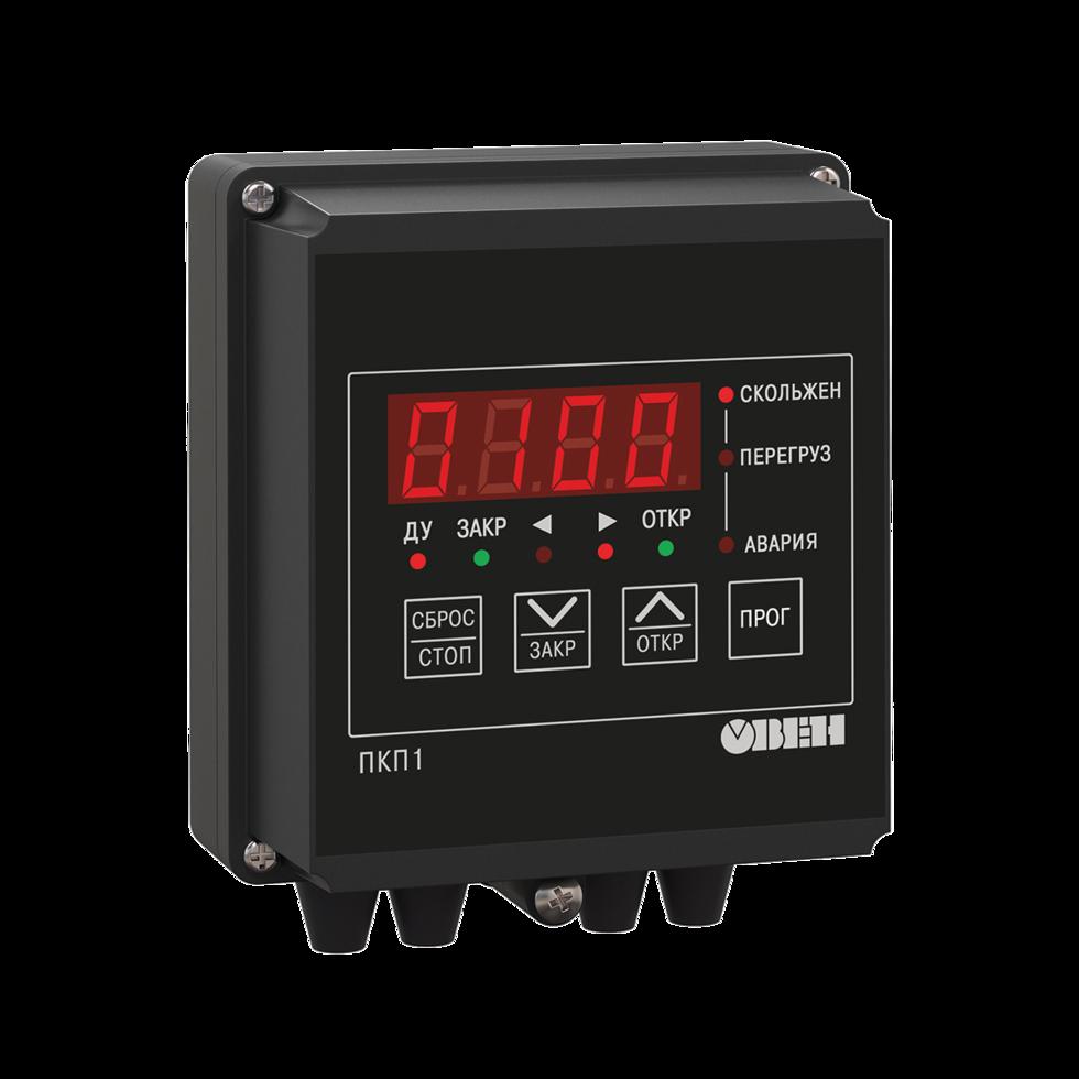 Устройство управления и защиты электропривода задвижки без применения концевых выключателей ПКП1