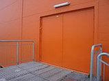 Противопожарные  распашные ворота, фото 4