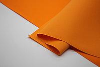 Фоамиран иранский (1 лист) - оранжевый/125