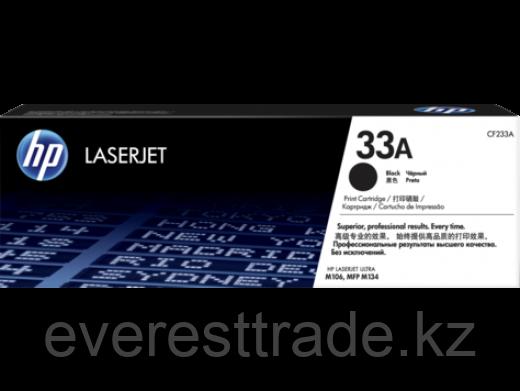 Картридж лазерный HP CF233A, черный, ресурс 2300стр, для M106 / M134