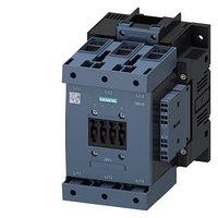 SIEMENS 3RT1054-1AP36 Контактор 3-х полюсный 115А, 55KW/(макс допустимый ток 160А) 220V AC 2NO+2NC