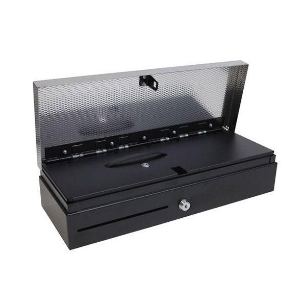 Денежный ящик HPC 460 FT (черный с нерж.кр.)