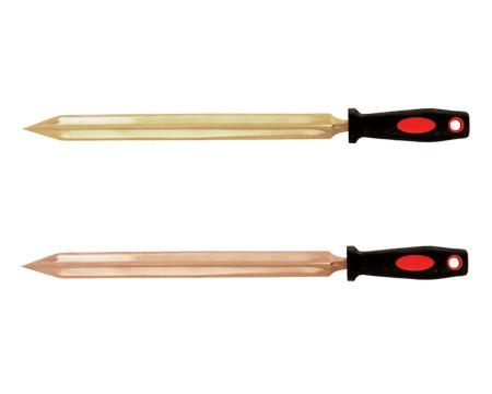 Напильник трехгранный вогнутый искробезопасный 160 мм.