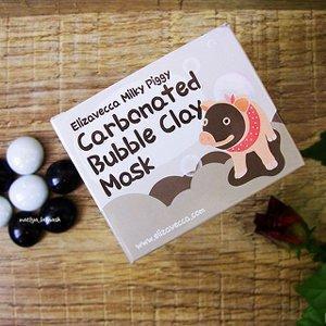 Очищающая глиняно-пузырьковая маска Elizavecca Milky Piggy