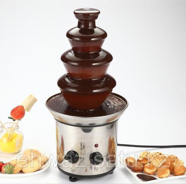 Шоколадный фонтан 4 яруса. 45 сантиметров.