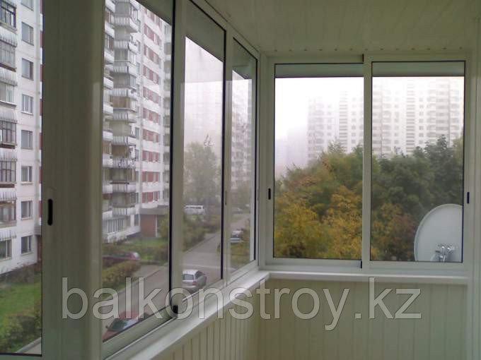 Холодное остекление балконов, лоджий
