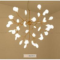 Люстра в стиле Loft светодиодная на 45 лампочек