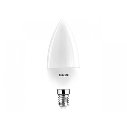 Эл. лампа светодиодная Camelion C35/6500К/E14/7Вт, Дневной, фото 2