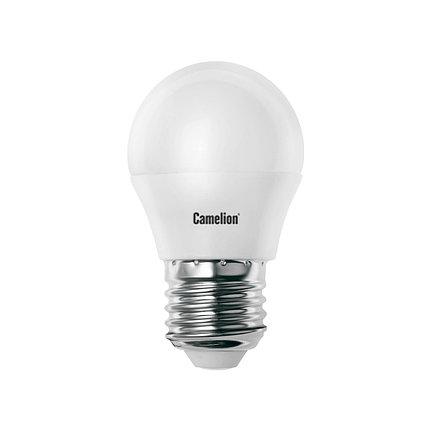 Эл. лампа светодиодная Camelion G45/4500К/E27/7Вт, Холодный, фото 2