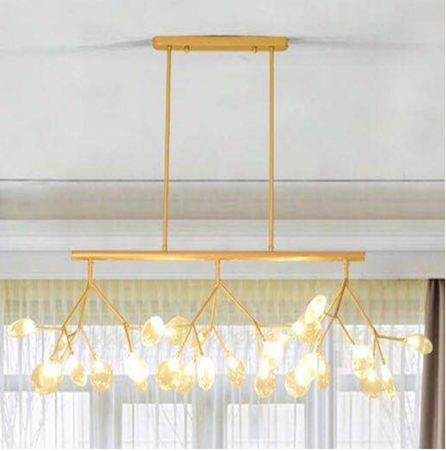 Люстра в стиле Loft светодиодная на 27 лампочек