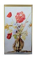 """Инфракрасный электрообогреватель-картина """"Красный цветок в вазе"""", 800 ват, 105*59 см"""