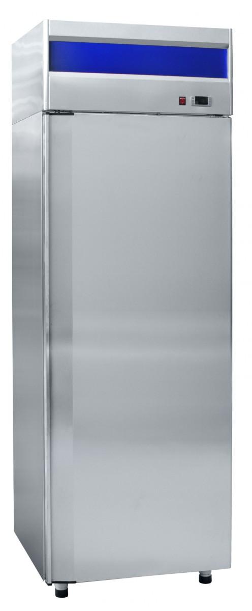 Шкаф холодильный нерж. (700х690х2050) среднетемпературный