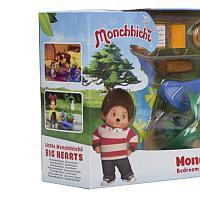 Набор аксессуаров для спальной комнаты Monchhichi (с зеленым ковром) 81528