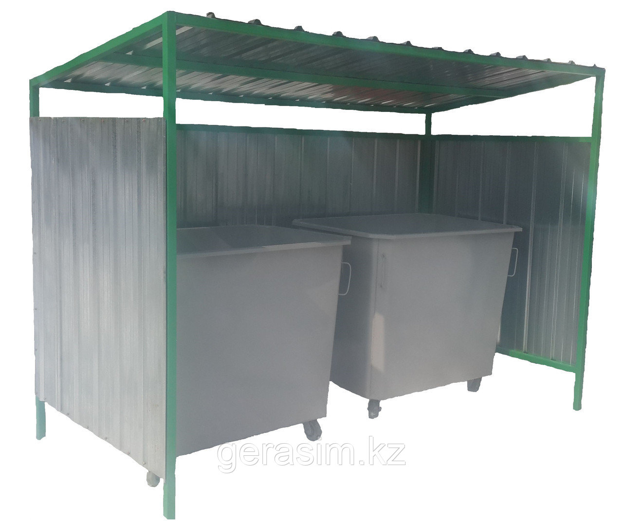 Ограждение для мусорных контейнеров ТБО
