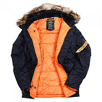 Куртка Аляска N3B HUSKY II INK/ORANGE