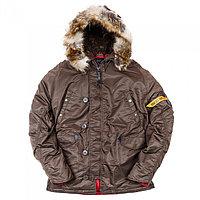 Куртка Аляска N3B HUSKY II BROWN, фото 1
