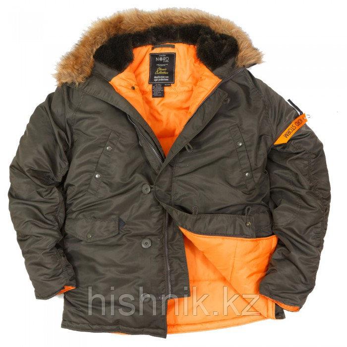 Куртка Аляска N3B HUSKY II REPLICA GREY ORANGE