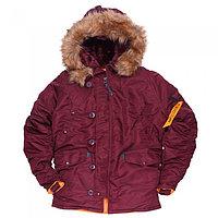 Куртка Аляска N3B HUSKY II MAROON ORANGE