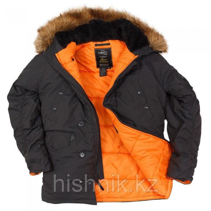 Куртка Аляска N3B OXFORD GRAYBLACK