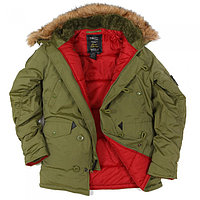 Куртка Аляска N3B OXFORD IGUANA, фото 1
