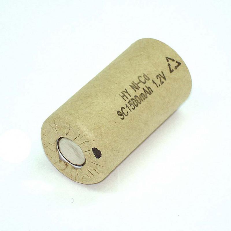 Аккумулятop 1,2v 1500mAh  SC  Ni-CD для батареи шуруповерта