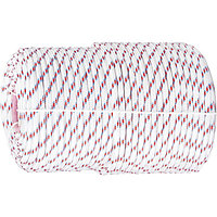 Фал плетеный полипропиленовый с сердечником, 24-прядный, 10 мм, бухта 100 м, 700 кгс Россия Сибртех