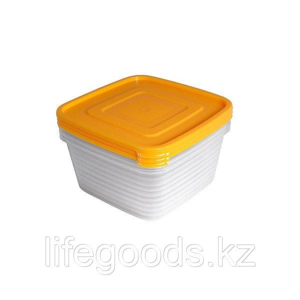 """Набор контейнеров """"Унико"""" для СВЧ 1,4л (3шт)"""