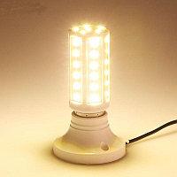 Светодиодная лампа-кукуруза 9W E27 теплая