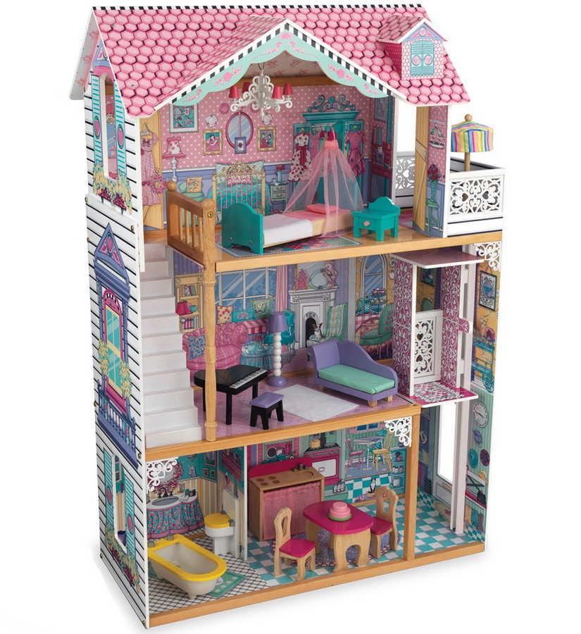 Кукольный домик с мебелью для Барби KidKraft Аннабель (65079)